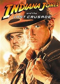 Indiana Jones and the Last Crusade (DVD) - Cover