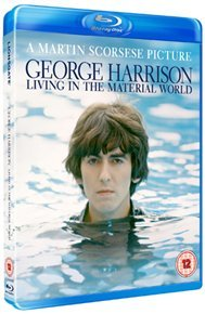George Harrison: Living In the Material World (Blu-ray) - Cover