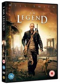 I Am Legend  (DVD) - Cover