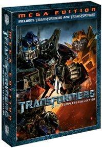 Transformers/Transformers: Revenge of the Fallen (DVD) - Cover