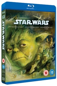 Star Wars Trilogy: Episodes I, II and III (Blu-ray) - Cover