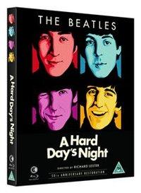 Hard Day's Night (Blu-ray) - Cover