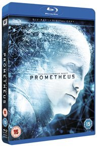 Prometheus (Blu-ray) - Cover