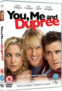You, Me and Dupree (DVD) - Cover