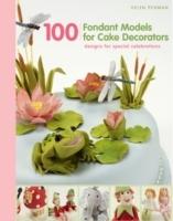 100 Fondant Models For Cake Decorators - Helen Penman (Hardcover) - Cover