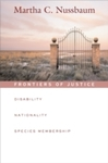 Frontiers of Justice - Martha C. Nussbaum (Paperback)