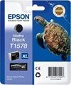 Epson T1578 - Matte Black Ink Cartridge