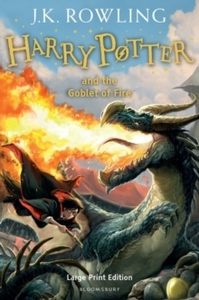 Harry Potter and the Goblet of Fire - J. K. Rowling (Hardcover) - Cover