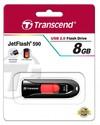 Transcend JetFlash 590 8GB USB 2.0 Flash Drive