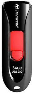 Transcend JetFlash 590 64GB USB 2.0 Flash Drive - Cover