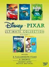 Ultimate Pixar Collection - Volume 1 Box Set (DVD) - Cover