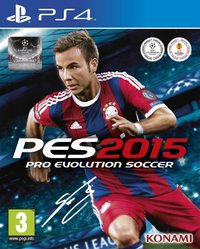 Pro Evolution Soccer 2015 (PS4) - Cover