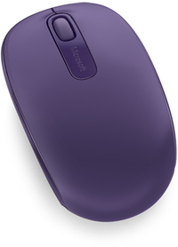 Microsoft Wireless Mobile Mouse 1850 - Purple - Cover