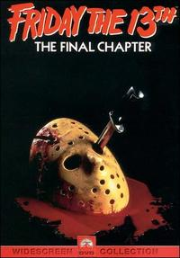 Friday The 13th - The Final Chapter (DVD) - Cover
