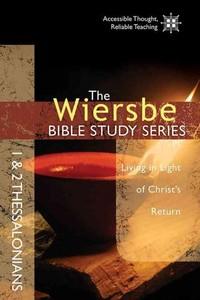 1 & 2 Thessalonians - Warren W. Wiersbe (Paperback) - Cover