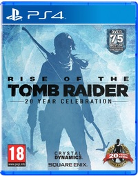 Rise of the Tomb Raider: 20 Year Celebration (PS4) - Cover