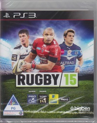 Rugby 15 (PS3) - Cover