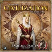 Sid Meier's Civilization: The Board Game - Fame and Fortune Expansion (Board Game) - Cover