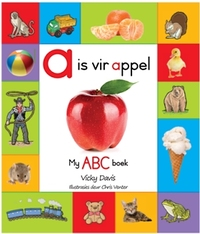 A Is Vir Appel - My ABC-Boek - Vicky Davis (Hardcover) - Cover