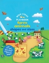 Wipe-Clean Playbook: Farm Animals Shapes and Sizes - Ben Adams (Board book)