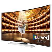 Samsung UN55HU9000 Curved 55-Inch 4K Ultra HD 120Hz 3D Smart LED HDTV (Series 9) - Cover