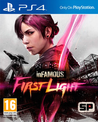 inFAMOUS: First Light (PS4) - Cover