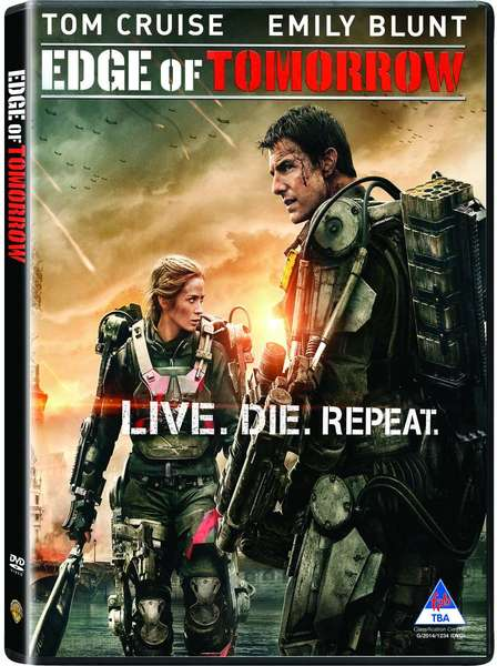 Edge Of Tomorrow (DVD) - Movies & TV Online | Raru