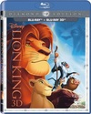 The Lion King (3D Blu-ray) Cover