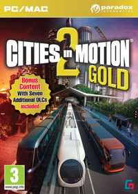 Cities in Motion 2 (PC) - Cover