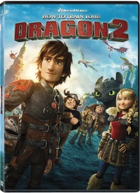 How To Train Your Dragon 2 (DVD) - Cover