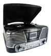 BigBen Turntable Radio Player Encoder MP3 Black