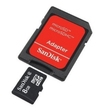 Sandisk SD Micro Card & Adapter - 8GB