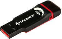 Transcend - JetFlash 340 64GB USB 2.0 OTG Flash Drive - Cover
