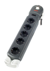 APC Essential SurgeArrest 5 Outlets with Surge Protection & RJ-11 Phone/Modem Protection - with Cable Management