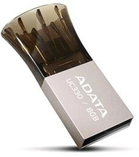 ADATA UC330 USB OTG 8GB USB 2.0 Flash Drive - Cover