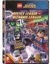 LEGO DC Comics Super Heroes: Justice League vs. Bizarro League (DVD) Cover