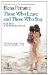 Those Who Leave and Those Who Stay - Elena Ferrante (Paperback)