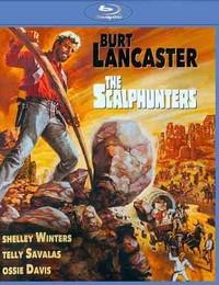 Scalphunters (1968) (Region A Blu-ray) - Cover