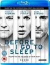 Before I Go to Sleep (Blu-ray)