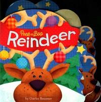 Peek-a-Boo Reindeer - Charles Reasoner (Hardcover) - Cover