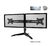 Aavara DS200 Dual LED Monitor Stand