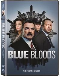 Blue Bloods - Season 4 (DVD) - Cover