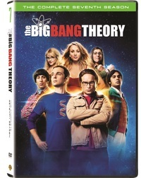 Big Bang Theory - Season 7 (DVD) - Cover