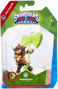Skylanders Trap Team - Trap Master - Bushwack (For 3DS, Wii, PC, PS3 & Xbox 360) - Cover