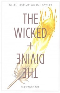 The Wicked + the Divine 1 - Kieron Gillen (Paperback) - Cover