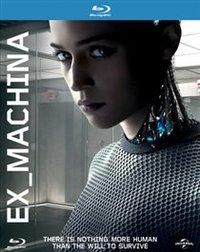 Ex Machina (Blu-ray) - Cover