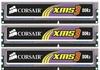 Corsair - XMS3 with heatsink, 3GB (1GB x 3 kit) DDR3-1333, CL9, 1.5v - 240pin - Memory