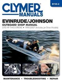 Clymer Manuals Evinrude / Johnson 2-stroke Outboard Shop Manual - Inc. Haynes North America (Paperback) - Cover