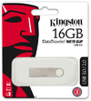 Kingston DataTraveler SE9 G2 16GB USB 3.0 Flash Drive - Silver