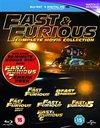 Fast & Furious 1-6 / Fast & Furious 7 Sneak Peek (Blu-ray)